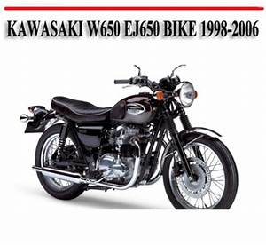Kawasaki W650 Ej650 Bike 1998-2006 Repair Manual