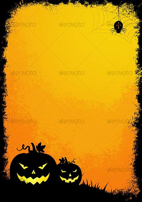 halloween border background festival collections