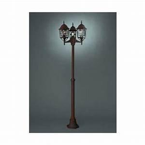 Lampadaire 3 Tetes : lampadaire exterieur 3 tetes comparer 40 offres ~ Teatrodelosmanantiales.com Idées de Décoration