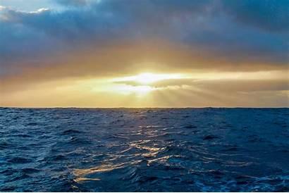 Impact Ocean Environmental Sunset