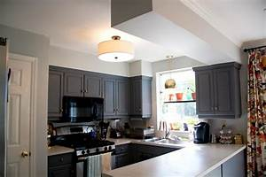 Ceiling white the choice to kitchen designs in