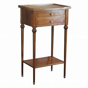 chevet louis philippe trendy chevet tiroirs chne massif With petit meuble merisier louis philippe