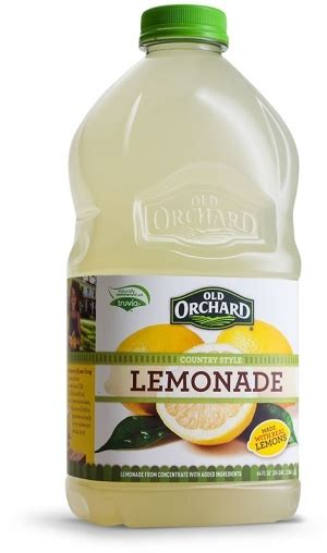 Old Orchard Lemonade Review And Giveaway #ad  I Like It