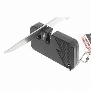 Wusthof Black Plastic Keychain Manual Knife Sharpener