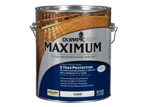 olympic maximum sealant lowes wood stain consumer reports