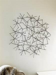 Wanddeko Metall Modern : 33 verbl ffende ideen f r wanddeko aus metall ~ Frokenaadalensverden.com Haus und Dekorationen