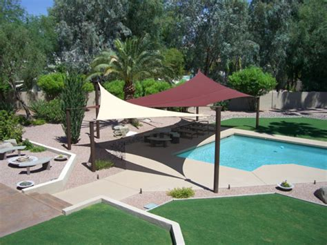 backyard sails sun sail shades for some area around pool pool landscape ideas pinterest sail shade