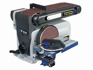 Ponceuse A Bande : ponceuse bande 100 mm disque 150 mm 370 w 68182 ~ Premium-room.com Idées de Décoration