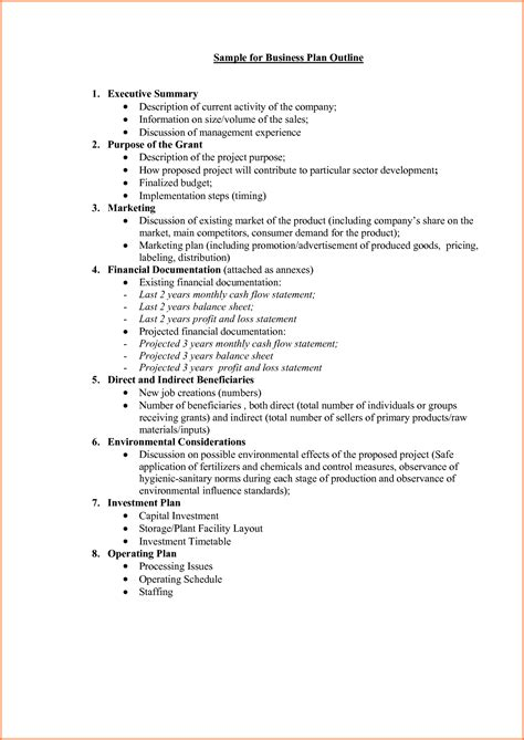 business plan proposal template project proposal