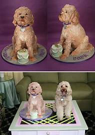 Birthday Cakes Shaped Like Dogs