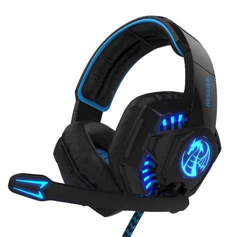 headset razer noswer i8 led stereo ear headphones headband gaming
