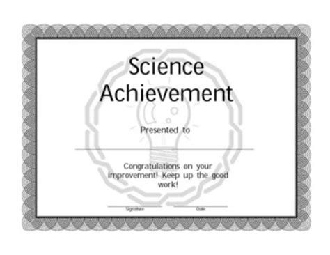 Baseball Achievement Certificate Baseball Success Achievement In Science Certificate Certificate Templates