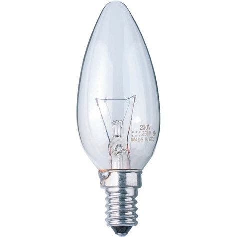 osram normal torch bulb candle bulb clear twin pack