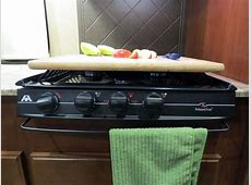 Camco Hardwood RV Stovetop Silencer and Cutting Board w