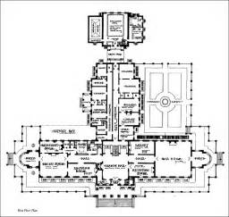 mansion floor plans lynnewood philadelphia pennsylvania - Floor Plans Mansions