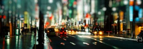 blur night city banner night city background images city