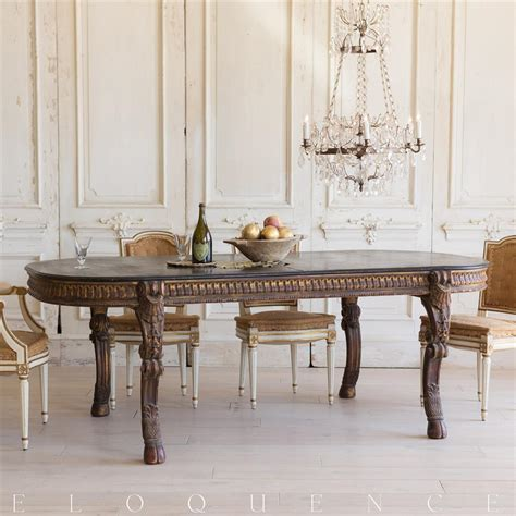 French Country Style Vintage Extendable Dining Table 1940  Kathy Kuo Home