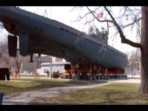 U Boat Watch Chicago by Moving The U 505 Submarine Youtube