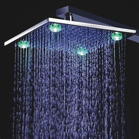 Led Shower by 7 Best Led Shower Heads Updated Jan 2019 With Reviews