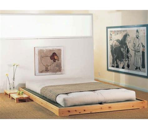 canapé lit japonais lit japonais en bois massif tokedo