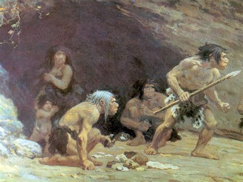 neandertales mamuts  rinocerontes en el menu