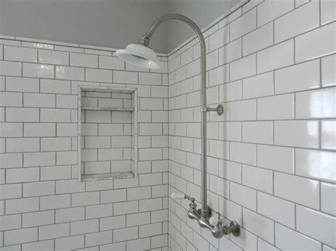 white subway tile bathroom sophisticated and modern white subway tile the home redesign