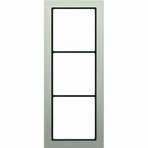 Jung Edelstahl Design : jung fdes2983 abdeckrahmen edelstahl 3 fach online kaufen im voltus elektro shop ~ Orissabook.com Haus und Dekorationen