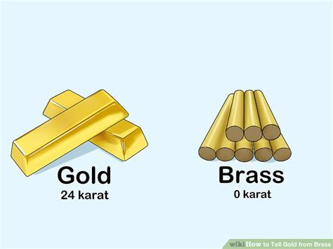 color of brass 3 ways to tell gold from brass wikihow
