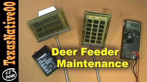 12 Volt Deer Feeder Wiring Diagram by Deer Feeder Maintenance Trouble Shooting Batteries