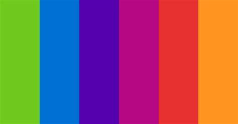 Twisted Rainbow Color Scheme » Blue » SchemeColor.com