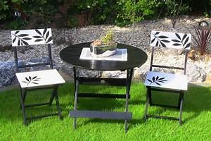Balkon Tisch Stühle : 3tlg leco premium garten sitzgruppe tischgruppe balkon set tisch stuhl st hle ebay ~ Sanjose-hotels-ca.com Haus und Dekorationen