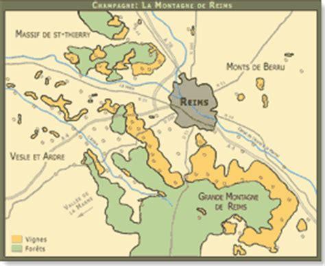 Carte Interactive Des Montagnes De by Chagne Le Terroir De La Montagne De Reims
