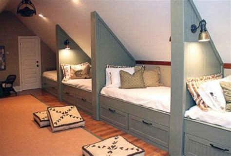 bunk beds  incredible youll      share  room architecture design