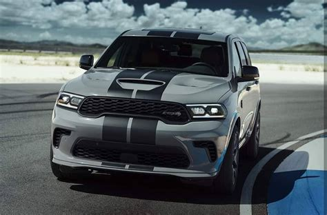 And when dodge's supreme suv isn't making its passengers squirm and regret their lunches, it can tow up to 8700 pounds and haul plenty of groceries. 2021 Dodge Durango SRT Hellcat Most Powerful SUV Ever ...