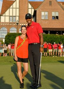 Tiger Woods' Girlfriend Celebrates His First Win In Five Years