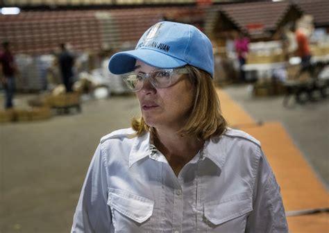 trump lashes   puerto rico mayor  criticized storm