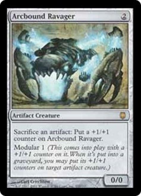 mtg deck definition arcbound ravager darksteel gatherer magic the gathering