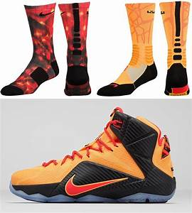 Nike LeBron 12 Witness Socks | SportFits.com