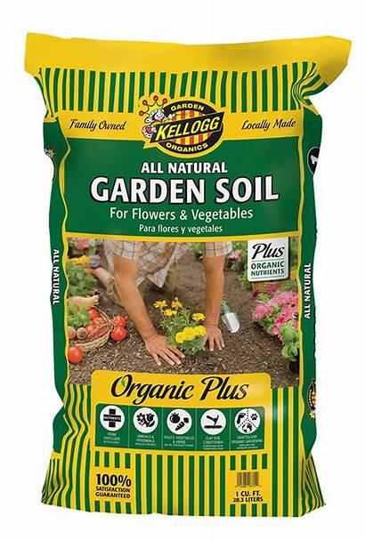 Soil Kellogg Garden Natural Organics Vegetables Flowers