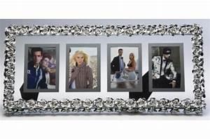 Cadre Décoratif Pas Cher : cadre 4 photos contour roses 68 x 30 5 cm cadre photo pas cher ~ Teatrodelosmanantiales.com Idées de Décoration