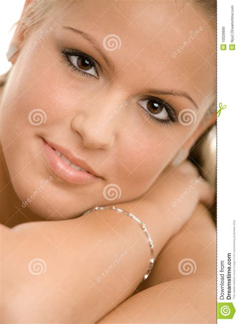 Beautiful College Girl Royalty Free Stock Images Image