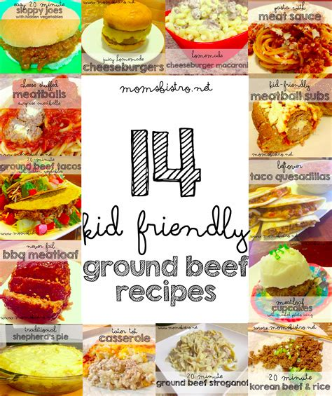 kid friendly meals for dinner 14 easy kid friendly ground beef recipes to try for dinner tonight mom s bistro