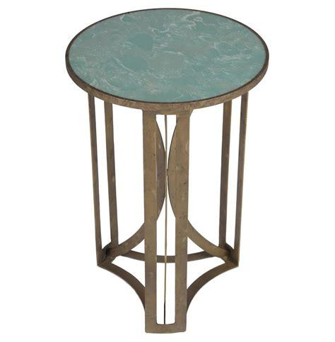 antique brass side table bernard hollywood regency antique brass leaf marble side