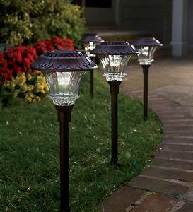Plow hearth solar path lights review gift card