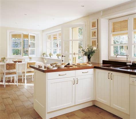 en madera   cocinas cocinas blancas cocinas
