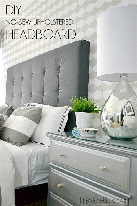 aesthetic headboards   bedroom diy fabric