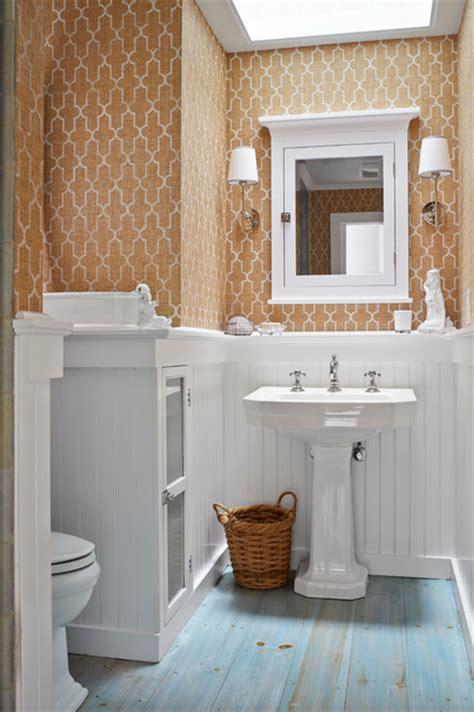beach classic beach style bathroom  york