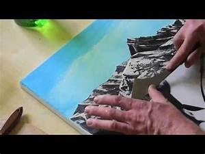 Foto Auf Plexiglas : malen spachteln mit acryl auf leinwand youtube ~ Buech-reservation.com Haus und Dekorationen