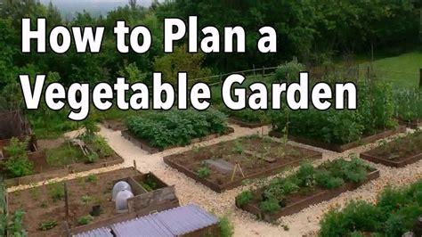 home vegetable garden plans youtube