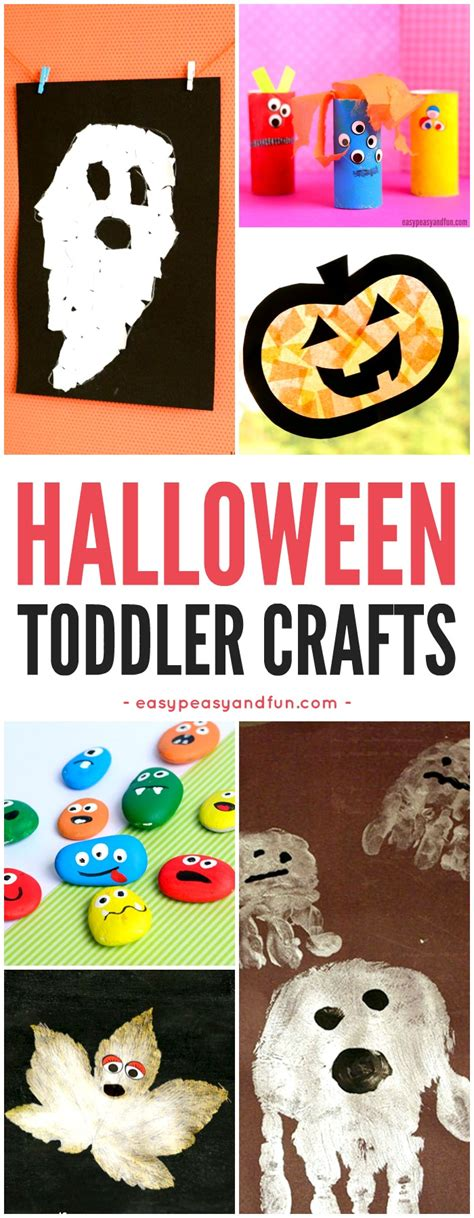 Halloween Crafts For Toddlers  Easy Peasy And Fun